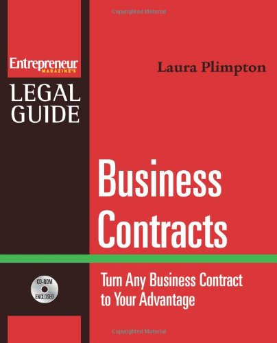 Business Contracts Turn Any Business Contract to Your Advantage  2007 edition cover