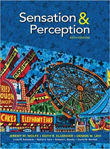 Sensation and Perception  6th 9781605359724 Front Cover