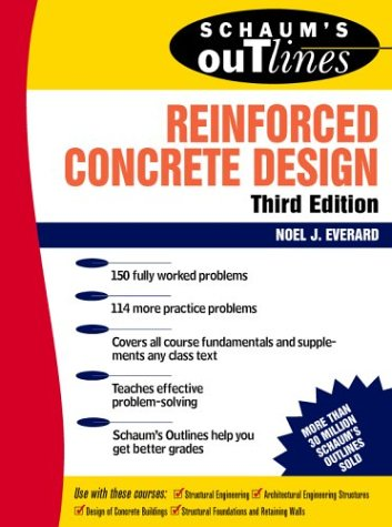Schaum's Outline of Reinforced Concrete Design  3rd 1993 (Revised) edition cover