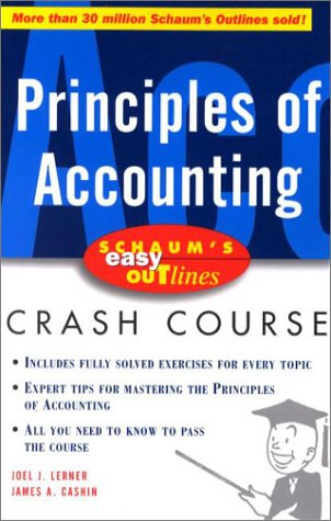 Schaum's Easy Outline Principles of Accounting   2001 edition cover