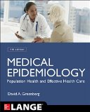 Medical Epidemiology:   2015 edition cover