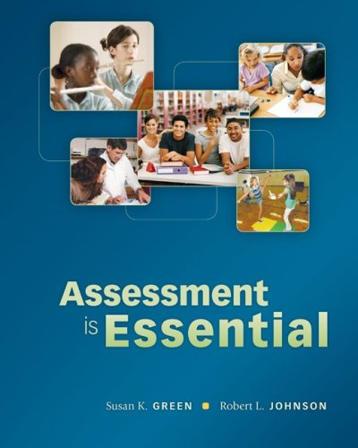 Assessment Is Essential   2010 edition cover