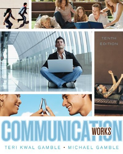 Communication Works 10th 2010 edition cover