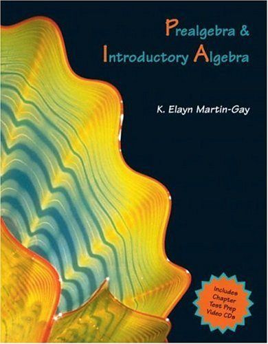Prealgebra and Introductory Algebra   2005 edition cover