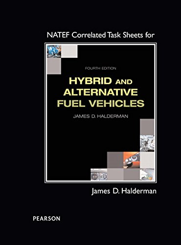 Natef Correlated Task Sheets for Hybrid and Alternative Fuel Vehicles:   2015 9780133825725 Front Cover