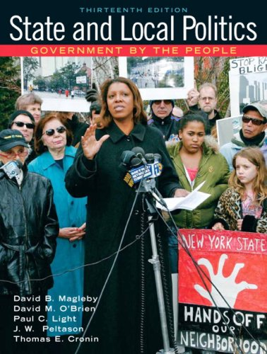 STATE+LOCAL POLITICS-W/2008 EL 13th 2008 9780137137725 Front Cover