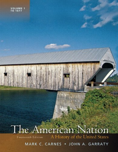 American Nation A History of the United States 14th 2012 9780205207725 Front Cover