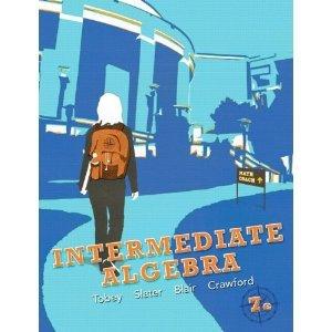 Intermediate Algebra, Books a la Carte Edition  7th 2013 edition cover