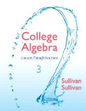 College Algebra Concepts Through Functions 3rd 2015 edition cover