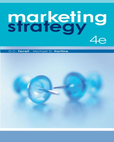 Marketing Strategy  4th 2008 edition cover