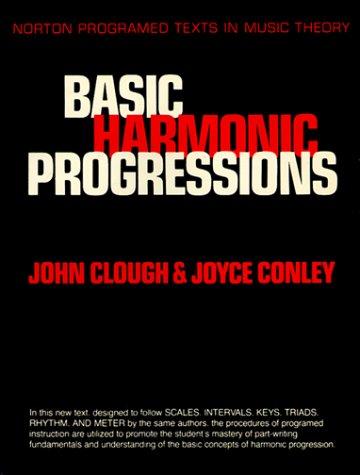 Basic Harmonic Progressions   1984 edition cover