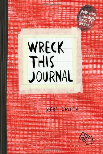 Wreck This Journal (Red) Expanded Ed  N/A 9780399162725 Front Cover