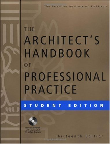 Architect's Handbook of Professional Practice  13th 2002 (Revised) edition cover
