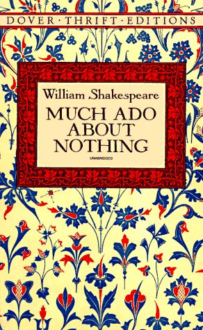 Much Ado about Nothing   1994 (Unabridged) edition cover