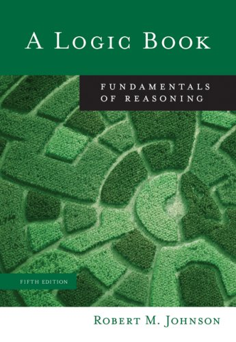 Logic Book Fundamentals of Reasoning 5th 2007 (Revised) edition cover
