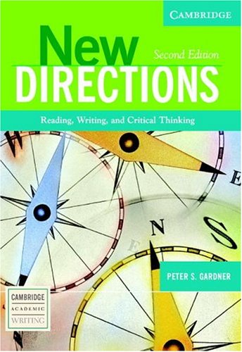 New Directions Reading, Writing, and Critical Thinking 2nd 2005 (Revised) edition cover