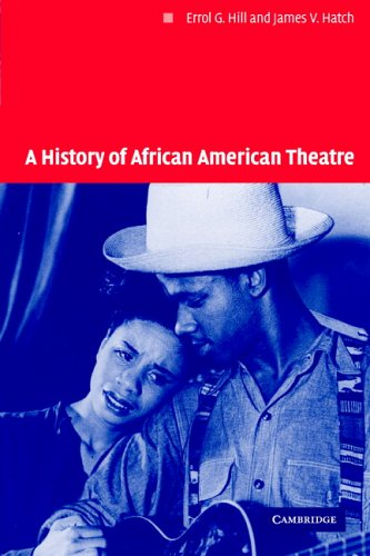 History of African American Theatre   2005 edition cover