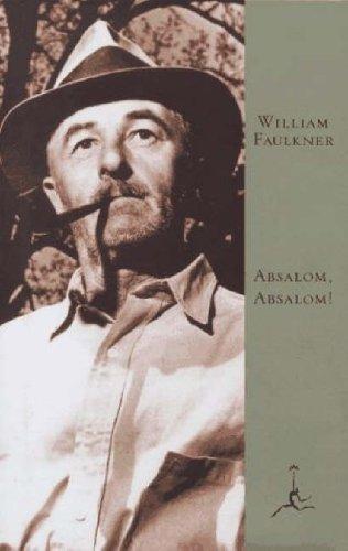 Absalom, Absalom!  Annual edition cover