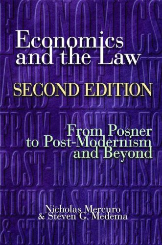 Economics and the Law From Posner to Post-Modernism and Beyond 2nd 2006 (Revised) edition cover