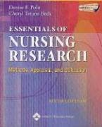 Essentials of Nursing Research Methods, Appraisal, and Utilization 6th 2006 (Revised) edition cover
