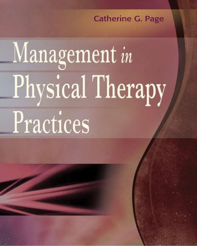 Management in Physical Therapy Practices   2010 edition cover