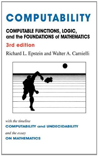 Computability Computable Functions, Logic, and the Foundations of Mathematics  2008 9780981550725 Front Cover