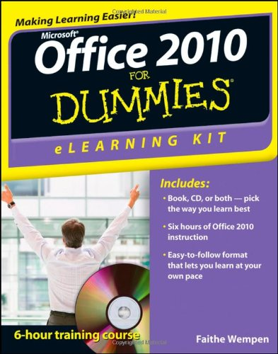 Microsoft Office 2010 for Dummies   2011 edition cover