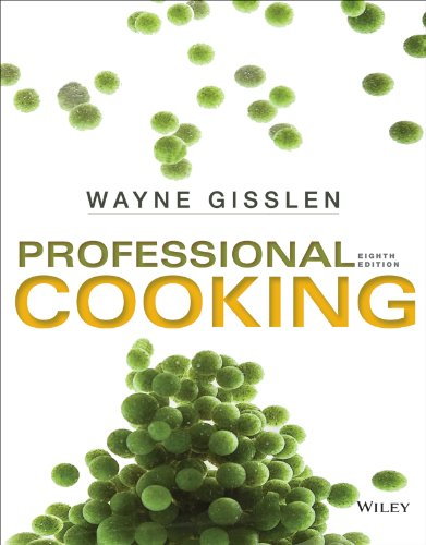 Professional Cooking  8th 2014 9781118636725 Front Cover