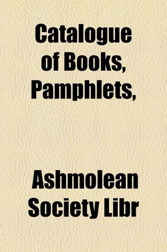 Catalogue of Books, Pamphlets  2010 edition cover