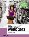 Microsoft� Word 2013, Complete   2014 9781285167725 Front Cover