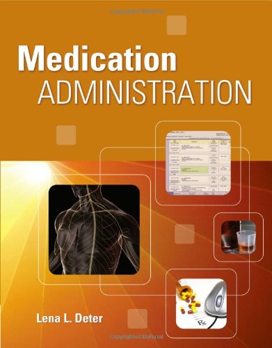 Medication Administration   2011 edition cover