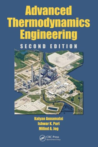 Advanced Thermodynamics Engineering  2nd 2011 (Revised) edition cover