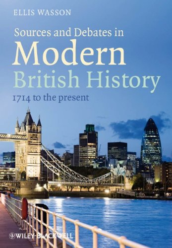 Sources and Debates in Modern British History 1714 to the Present  2012 edition cover