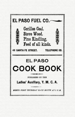 Paso Cook Book  N/A 9781557095725 Front Cover