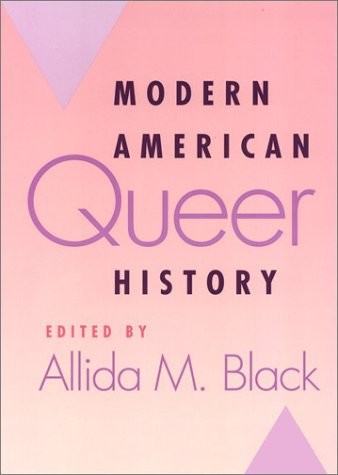 Modern American Queer History   2001 edition cover
