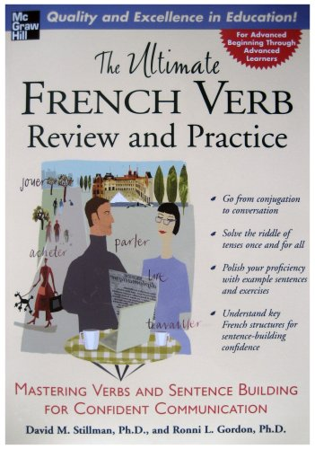 Ultimate French Verb Review and Practice Mastering Verbs and Sentence Building for Confident Communication  2006 edition cover