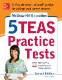 5 Teas Practice Tests  2nd 2014 9780071825726 Front Cover