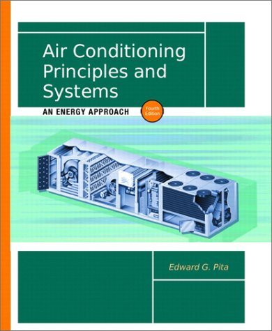 Air Conditioning Principles and Systems An Energy Approach 4th 2002 edition cover