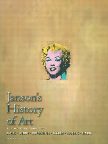Janson's History of Art Western Tradition 7th 2007 (Revised) edition cover