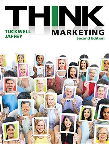 Think Marketing  2nd 2016 9780133815726 Front Cover