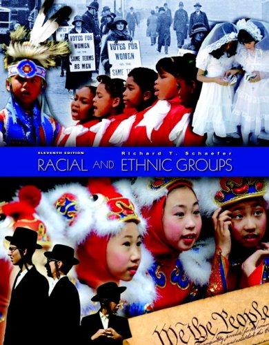 RACIAL+ETHNIC GROUPS-W/STUDY GUIDE 11th 2008 edition cover
