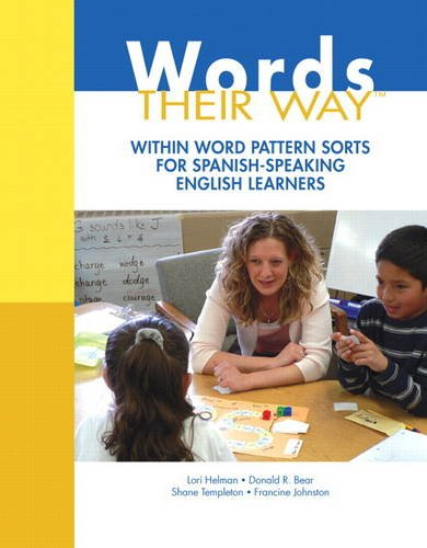 Words Their Way Within Word Pattern Sorts for Spanish-Speaking English Learners  2014 edition cover