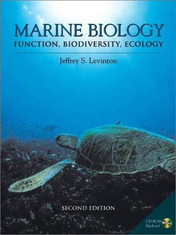 Marine Biology Function, Biodiversity, Ecology 2nd 2001 (Revised) edition cover