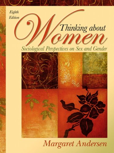 Thinking about Women Sociological Perspectives on Sex and Gender 8th 2009 edition cover
