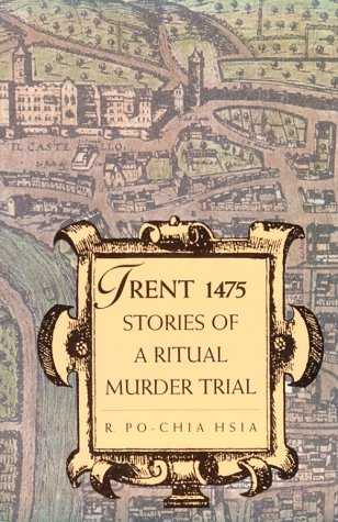 Trent 1475 Stories of a Ritual Murder Trial  1996 edition cover