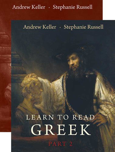 Learn to Read Greek   2011 (Workbook) 9780300167726 Front Cover
