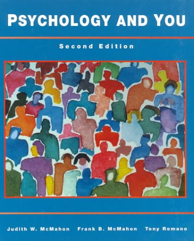 Psychology and You 2nd 1995 9780314027726 Front Cover