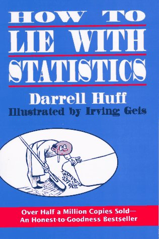 How to Lie with Statistics  Reprint  9780393310726 Front Cover