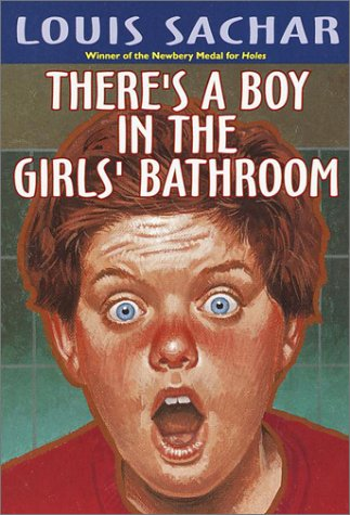 There's a Boy in the Girls' Bathroom   1987 (Reprint) edition cover