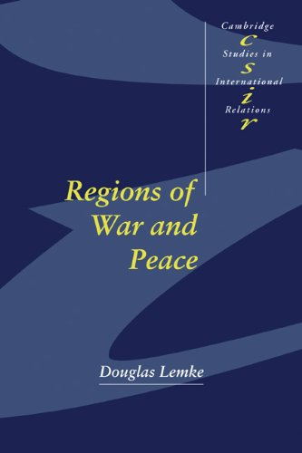 Regions of War and Peace   2002 9780521007726 Front Cover